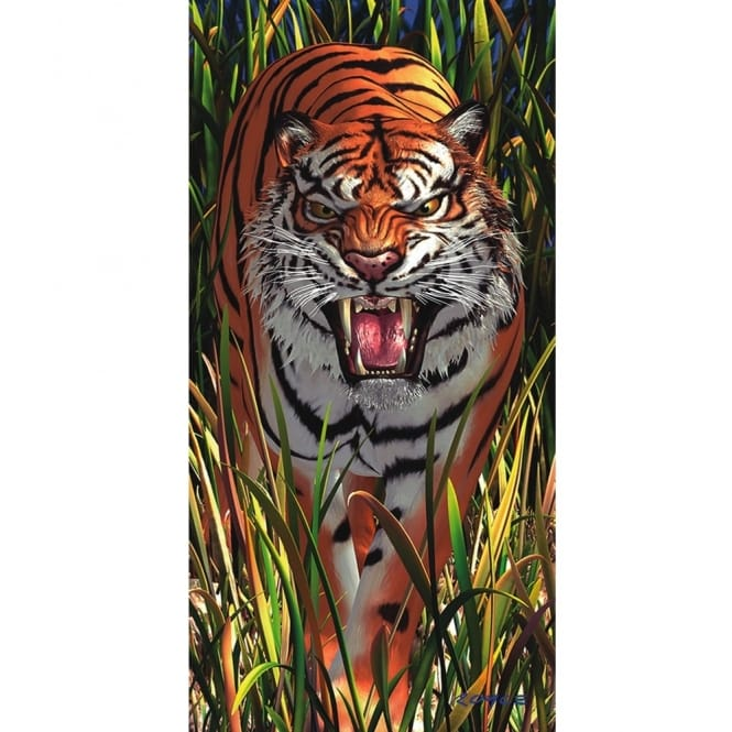 Royce 3D Wall & Door Poster - Tiger