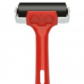 Rubber Roller Red & Black 75mm/3""