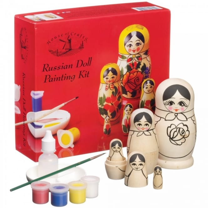 Russian Doll Painting Kit