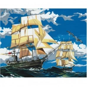 Sailing Ships Painting By Numbers