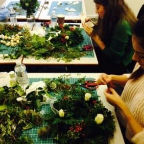 Santa Wreath Workshop | 2 1/2 hours| Monday 21st November | 12.30-3.00