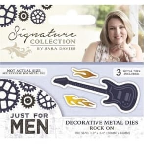Sara Signature Just for Men Collection - Rock On Die