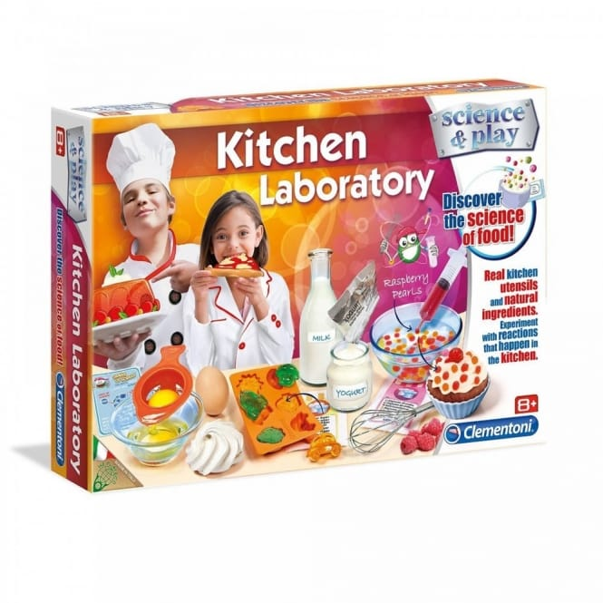 Science & Play Kitchen Laboratory