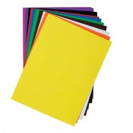 Self Adhesive Funky Foam Pack of 10 Assorted Colours