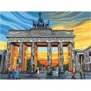 Senior Paint By Numbers Brandenburg Gate*