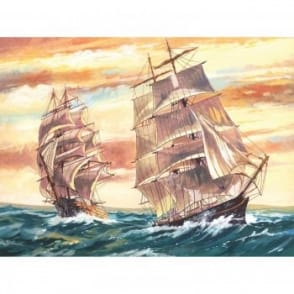 Senior Paint By Numbers Sailing Ships