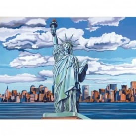 Senior Paint By Numbers Statue Of Liberty