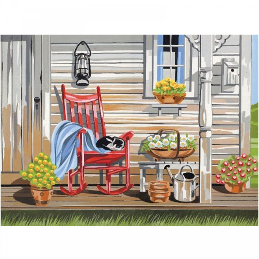 Senior Paint By Numbers Summer Morning Reeves From