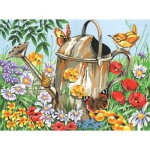 Senior Paint By Numbers Watering Can
