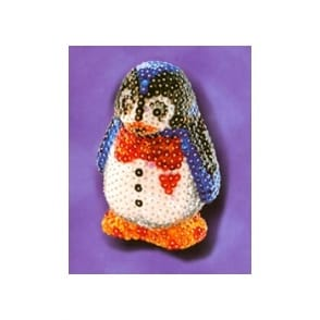 Sequin Art 3D Penguin