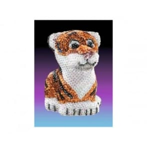 Sequin Art 3D Tiger