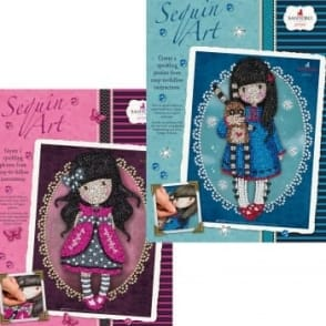Sequin Art Twin Pack Santoro Gorjuss