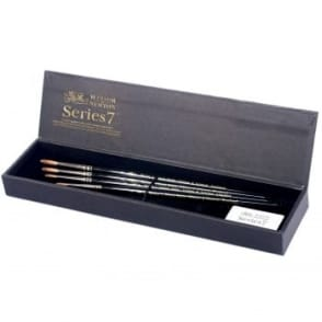 Series 7 Kolinsky Sable 4 Brushes Gift Box