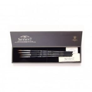 Series 7 Kolinsky Sable Brushes - Gift Box Set