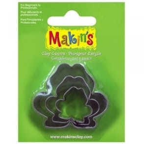 Set of 3 Frog Shape Cutters