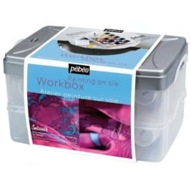 Setasilk Silk Painting Atelier Collection Set with 10-Assorted Colours Plus Accessories