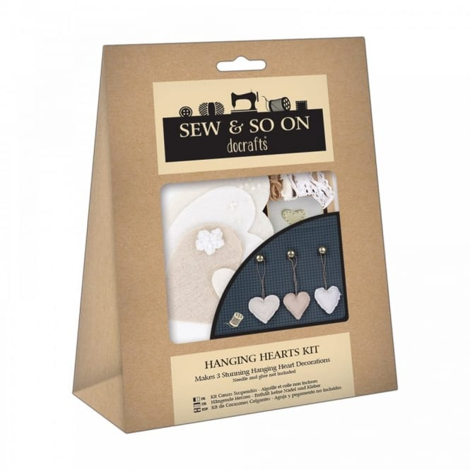Sew & So On Hanging Hearts Kit