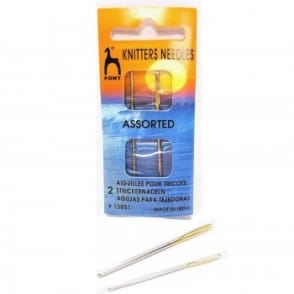 Sewing Needles For Knitting & Crochet