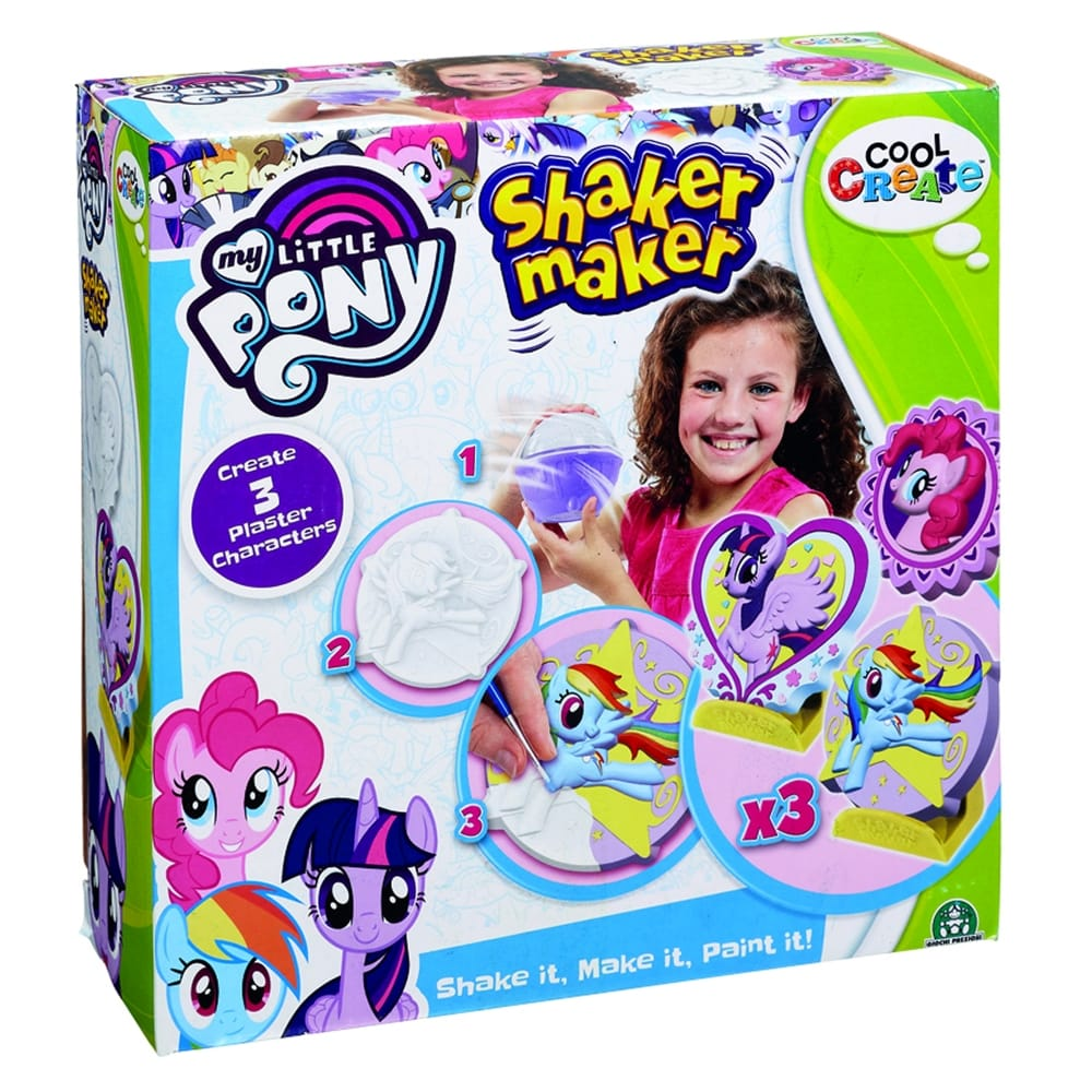 shaker maker my little pony sculpture kit craftyarts co uk
