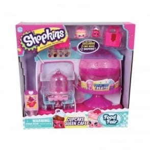Shopkins Cupcake Queen Cafe Playset