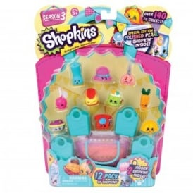 Shopkins Season 3 - Pack of 12