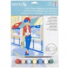Shopping Fashion Designer Junior Painting By Numbers