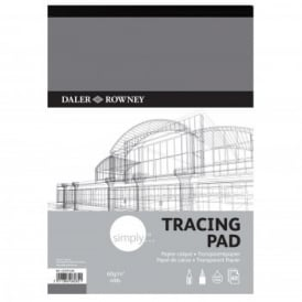 Simply 40lb/60gsm Tracing Pad A3