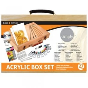 Simply Acrylic Colour Box Set