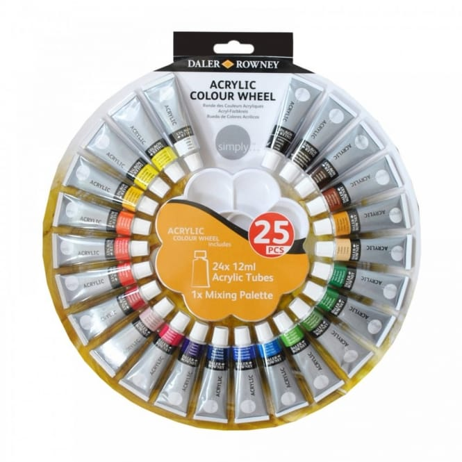 Simply Acrylic Colour Wheel