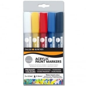 Simply Acrylic Paint Markers - 5 Pack