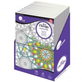 Simply Craft Art Therapy Colouring Book - Kaleidoscope