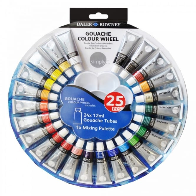 Simply Gouache Colour Wheel