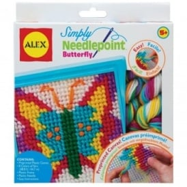 Simply Needlepoint Butterfly