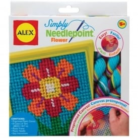 Simply Needlepoint Kit - Flower Blossom