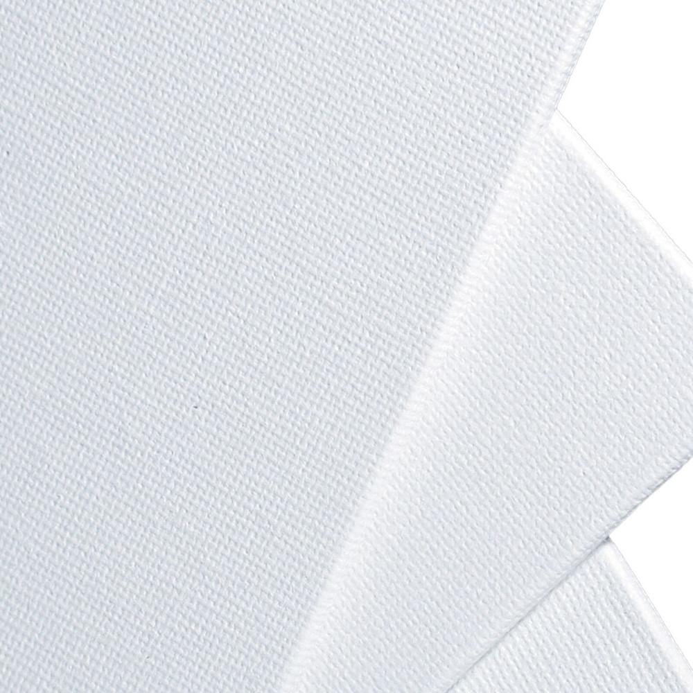 single white canvas panel  20 x 20cm