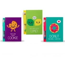 Sketch & Sniff Note Pad and Pen triple Bundle