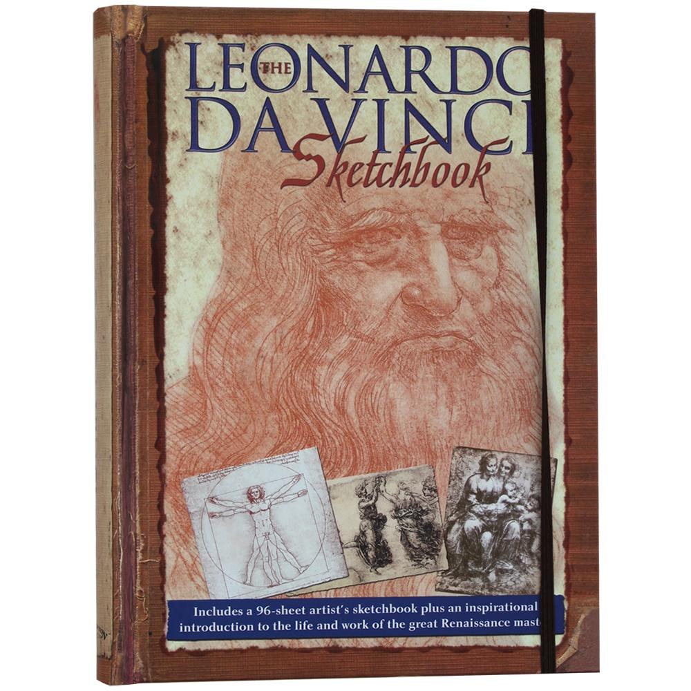 Sketchbook A4 Leonardo Da Vinci 96 Blank Sheets