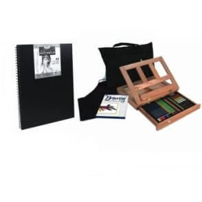 Sketching & Drawing Easel Set  + A3 Pad Bundle