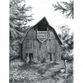 Sketching Made Easy Old Country Barn