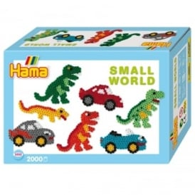 Small World Dinosaur & Car