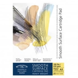 Smooth Surface Cartridge Pad - Gummed A3