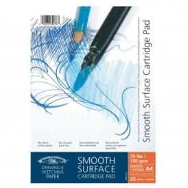 Smooth Surface Cartridge Pad - Spiral A4