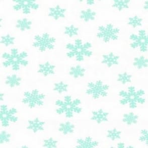 Snow Flake Printed Tissue Paper 4 Pack