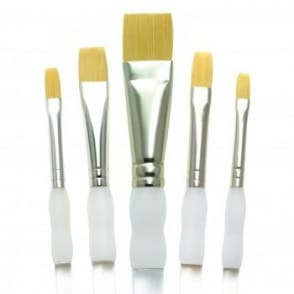 Soft Grip Flat Brush Set*