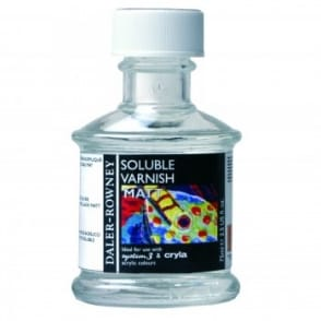 Soluble Varnish Matt 75ml