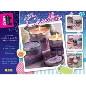 Soy Wax Candle Craft Kit
