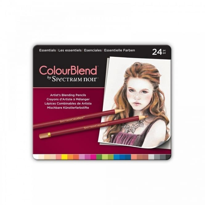 Spectrum 24 Colourblend Pencils - Essentials