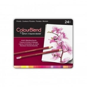 Spectrum 24 Colourblend Pencils - Floral