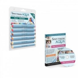 Spectrum Aqua Pens Nature 12 Pack & DVD Set