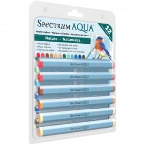 Spectrum Aqua Pens Nature 12 Pack